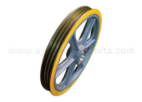 Mitsubishi elevator traction wheel 560*3*12