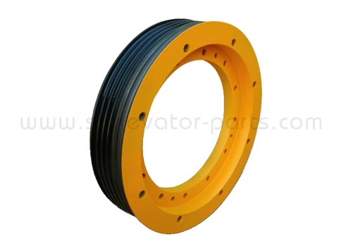 Mitsubishi elevator traction wheel 6200*6*12
