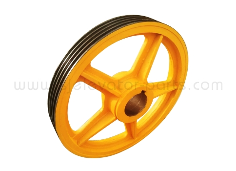 Sigma elevator traction wheel 605*4*12