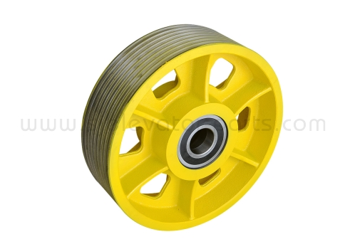 KONE MX18 elevator traction wheel