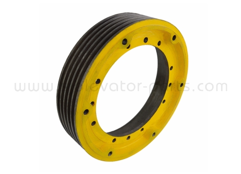 Elevator traction wheel 400*5*10