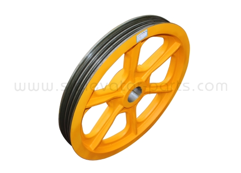 OTIS elevator traction wheel 593*3*13