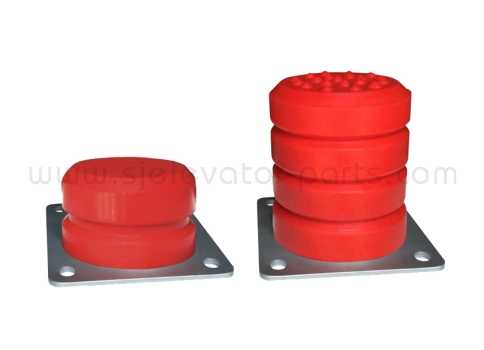 Elevator Polyurethane buffer elevator safety parts