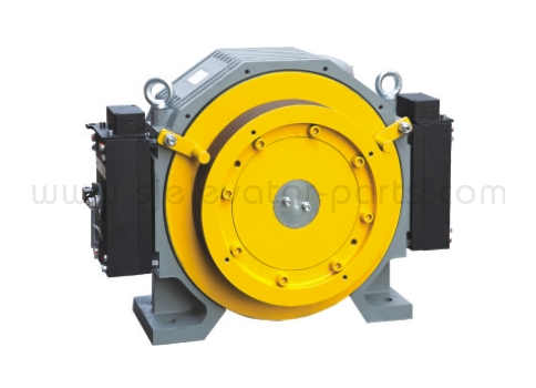 Elevator gearless traction machine GTW7